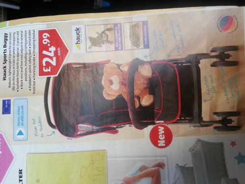 hauck sports buggy aldi hotukdeals. Black Bedroom Furniture Sets. Home Design Ideas