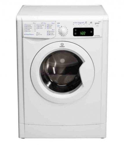indesit 9kg energy a 1400 rpm washing machine white. Black Bedroom Furniture Sets. Home Design Ideas