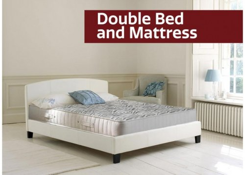 dreams double bed and mattress bundle free delivery hotukdeals
