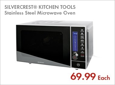 Stainless Steel Microwave Oven 163 69 99 Lidl Hotukdeals