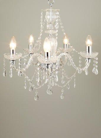 Bryony 5 Light Chandelier (Was ?150) @ BHS - ?56.25 - HotUKDeals
