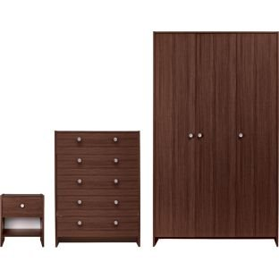 chest of drawers bedside table and wardrobe argos 149. Black Bedroom Furniture Sets. Home Design Ideas