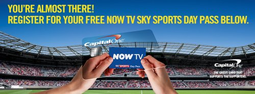 * NOW TV Sky Sports Day pass offers. A NOW TV box is around £10, though there are deals to get one free with other NOW TV passes. You plug it into an HDMI port on your TV. Or a Chromecast is between £20 and £30 and it allows you to stream from your computer, phone or tablet wirelessly. Be Clever With Your Cash is an award winning.