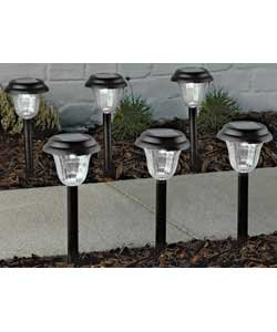 6 solar lights down from to at argos. Black Bedroom Furniture Sets. Home Design Ideas