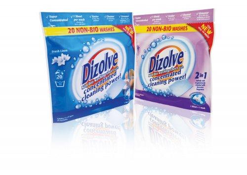 Dizolve fresh linen non bio detergent sheets 20 per pack home bargains a wash - Wash white sheets keep fresh ...