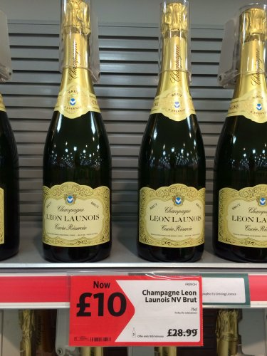 Cheap champagne deals at morrisons