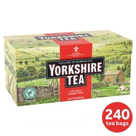 240 yorkshire teabags asda hotukdeals. Black Bedroom Furniture Sets. Home Design Ideas
