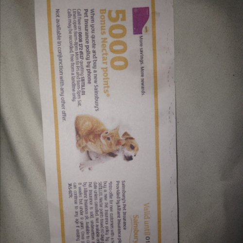 5000 nectar points and double nectar points when you take
