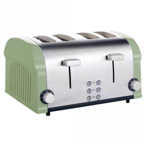 sainsburys kitchen collection stainless steel 4 slice sainsburys kitchen collection ebay