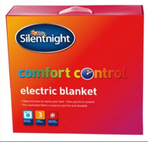 silentnight king electric blanket 7 instore at tesco was. Black Bedroom Furniture Sets. Home Design Ideas