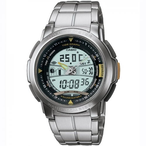 Casio AQF-100WD-9BVES Mens Moon/Tide/thermometer Watch £29