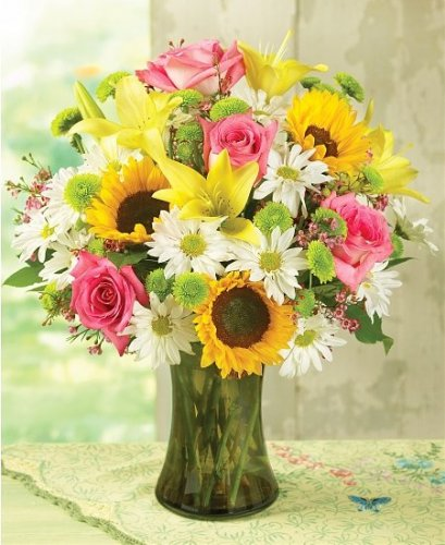 Flowers bouquet for mother 39 s day 10 30 extra free for Mother day flower arrangements