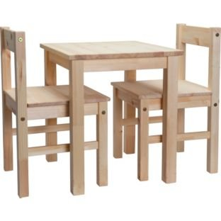 Scandinavia kids table and 2 chairs pine now was for Spl table 98 99
