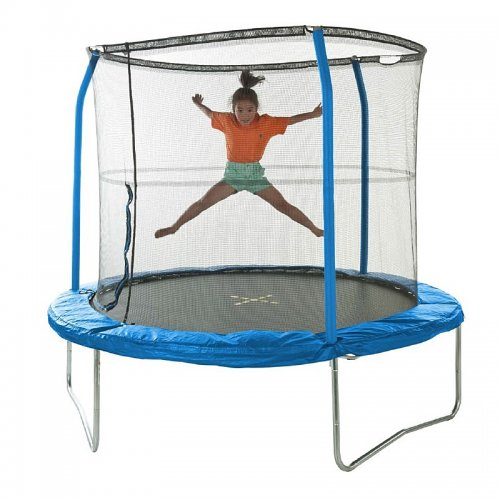 JumpKing 8ft Combo Trampoline With Enclosure