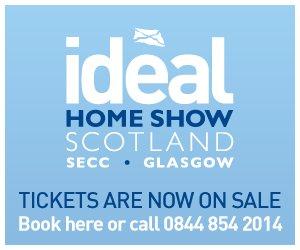 two free tickets to ideal home show scotland 23 26 may. Black Bedroom Furniture Sets. Home Design Ideas