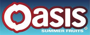 Oasis summer fruits, reduced sugar 29p @ FarmFoods ... Oasis Juice Logo