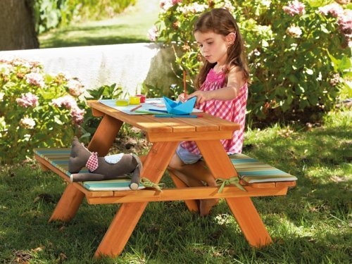 Kids Picnic Table 163 24 99 Lidl On 1st May Hotukdeals