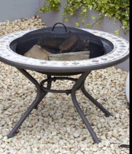 mosaic fire pit 87 b q hotukdeals. Black Bedroom Furniture Sets. Home Design Ideas