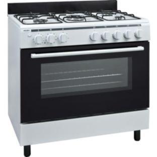 bush ag96r single gas range cooker white argos. Black Bedroom Furniture Sets. Home Design Ideas