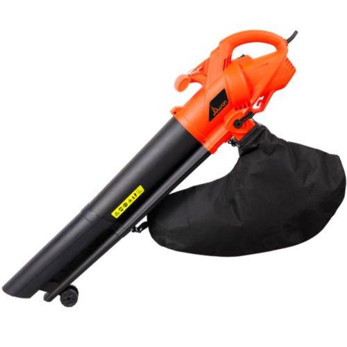 Leaf Blower Vacuum Mulcher : New w garden vac electric leaf blower vacuum shredder