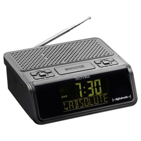 technika dcr1301 dab clock radio 12 tesco direct hotukdeals. Black Bedroom Furniture Sets. Home Design Ideas