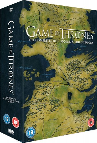 Game Of Thrones Season 1 And 2 Dvd Box Set Sainsburys ...