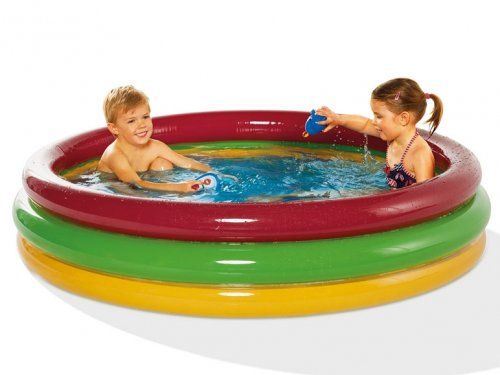 Crivit beach inflatable beach chair or kids paddling pool for Paddling pools deals