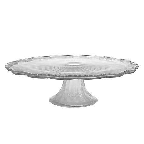 john lewis glass cake stand 7 was 15 john lewis. Black Bedroom Furniture Sets. Home Design Ideas