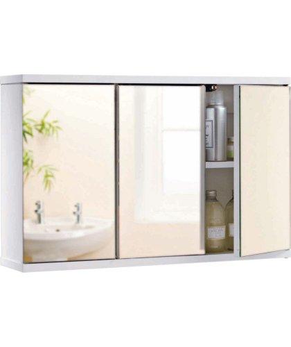 argos 3 door mirrored bathroom cabinet hotukdeals. Black Bedroom Furniture Sets. Home Design Ideas