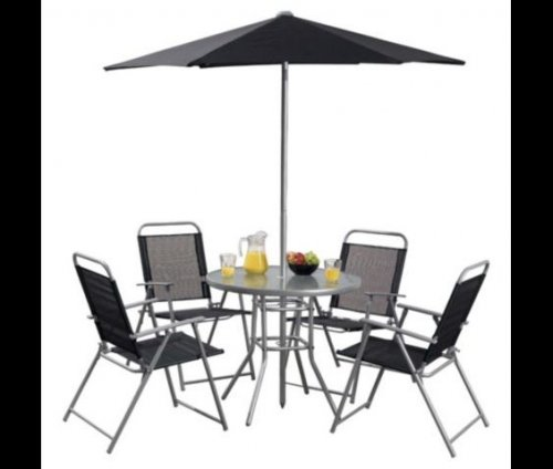 Hawaii 6 piece garden furniture set 42 tesco direct for Garden furniture deals
