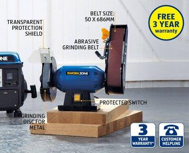 Pleasing Aldi Work Zone Bench Grinder Workzone Mini Bench Grinder Beatyapartments Chair Design Images Beatyapartmentscom