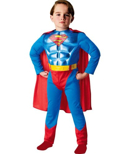 Superman Dress Up Outfit - 3-4 Years £5.49 was £22.99 @ Argos( Reserve and Collect) - HotUKDeals