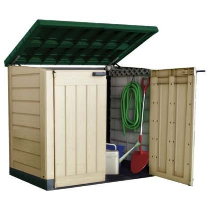 Keter store it out only at homebase hotukdeals for Garden shed homebase