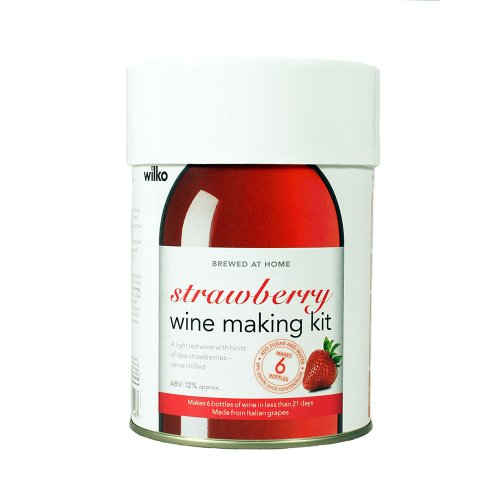 wilko strawberry wine kit hotukdeals. Black Bedroom Furniture Sets. Home Design Ideas