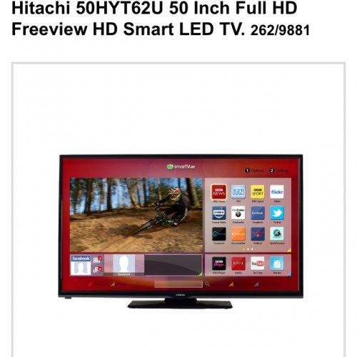 Hot uk deals 50 tv