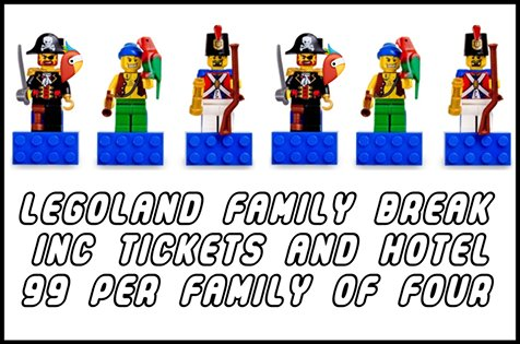 Cheap Legoland Tickets! Includes overnight Stay & Park ...