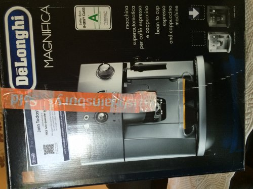 Delonghi Coffee Maker Sainsburys : Delonghi Magnifica ESAM4000 Bean to Cup Coffee Machine ?104.99 at Sainsburys Grocery (found at ...