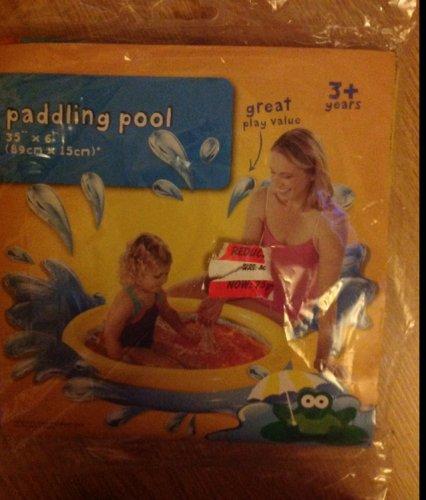 Kids paddling pool 75p asda instore hotukdeals for Paddling pools deals