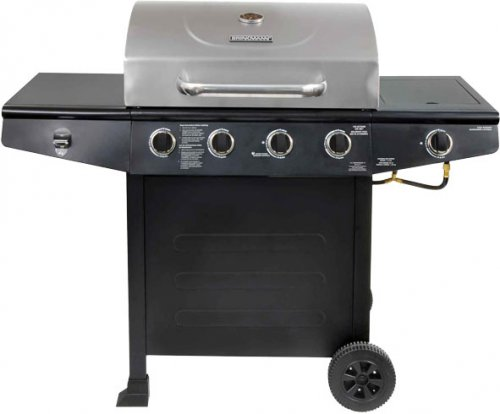 brinkmann 4 burner gas grill 129 reduced from 149 at. Black Bedroom Furniture Sets. Home Design Ideas