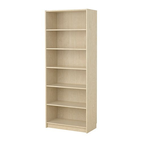 Ikea billy bookcase extra deep 80x39x202 birch veneer only How deep should a bookshelf be