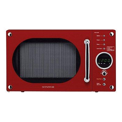 daewoo kor6n9rr microwave oven red cream black for 50. Black Bedroom Furniture Sets. Home Design Ideas