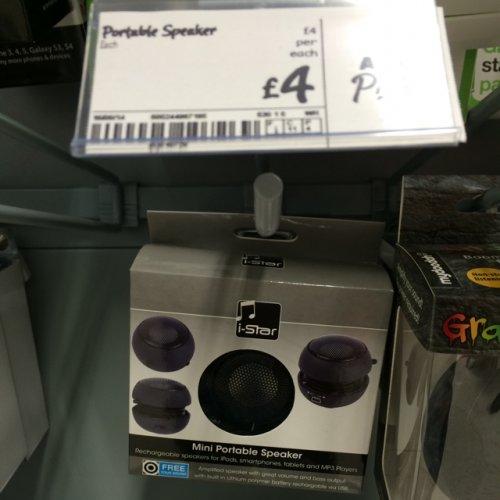 I-star Bluetooth Portable Speaker