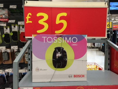 Tassimo Amia coffee machine ?35 @ Asda - HotUKDeals