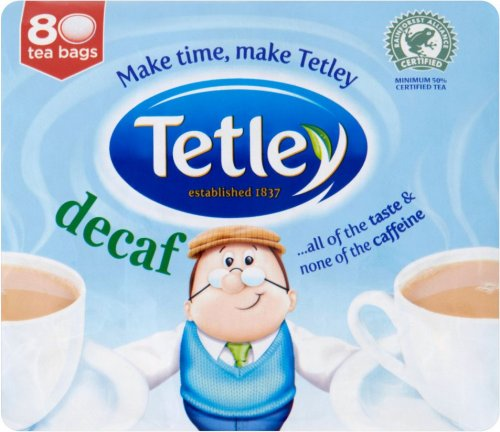 tetley decaffeinated tea bags 80 99p 99p store. Black Bedroom Furniture Sets. Home Design Ideas