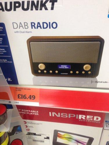 blaupunkt retro dab radio was instore sainsbury hotukdeals. Black Bedroom Furniture Sets. Home Design Ideas