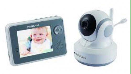 foscam fbm3501 video baby monitor amazon hotukdeals. Black Bedroom Furniture Sets. Home Design Ideas
