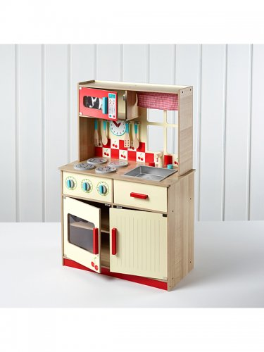 deluxe wooden toy kitchen back in stock 40. Black Bedroom Furniture Sets. Home Design Ideas