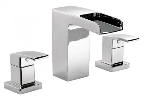 Cooke lewis cascade bath filler chrome effect b q for Bathroom b q offers