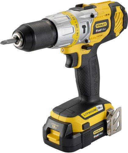 stanley fatmax lithium ion 18v drill argos. Black Bedroom Furniture Sets. Home Design Ideas