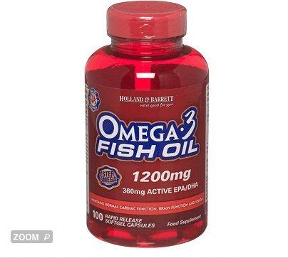 Holland barrett omega 3 fish oil capsules 1200mg for 9 for Do fish oil pills expire